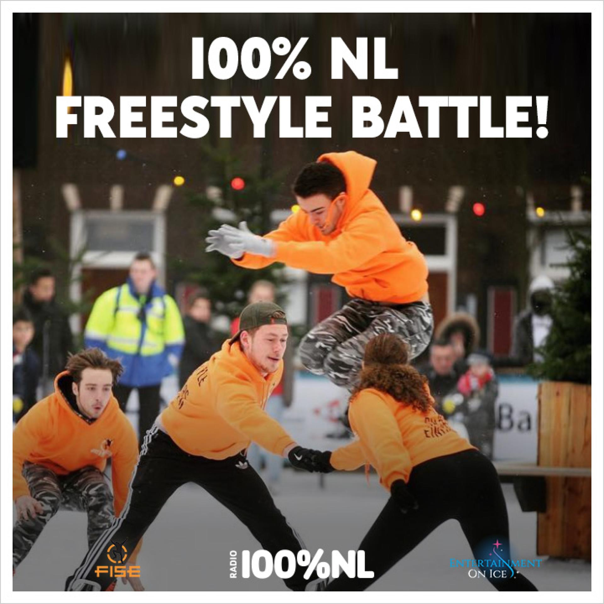 Freestyle Ice Skaters Eindhoven & 100%NL op tour langs IJsbanen in Nederland