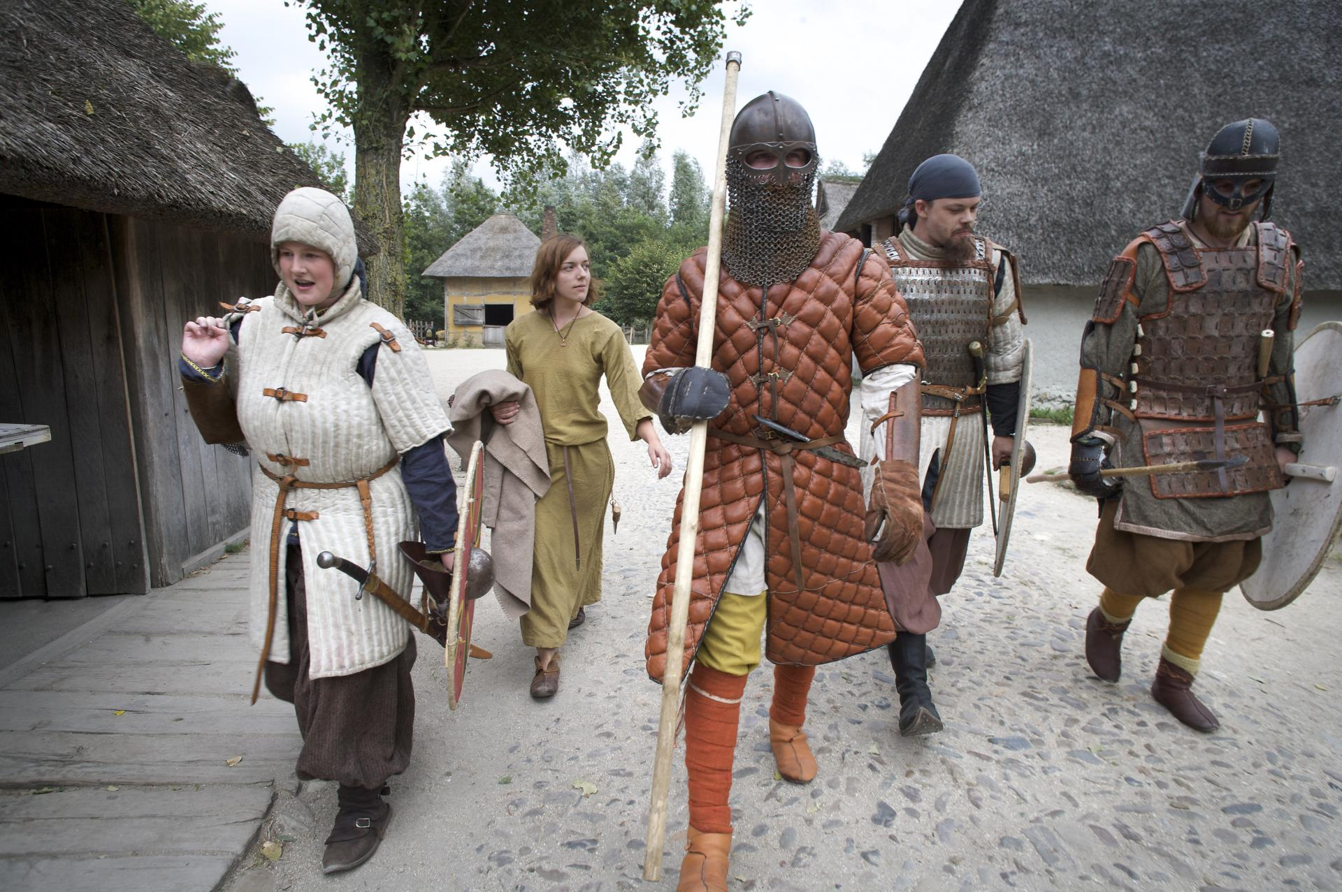 Vikingen veroveren Archeon
