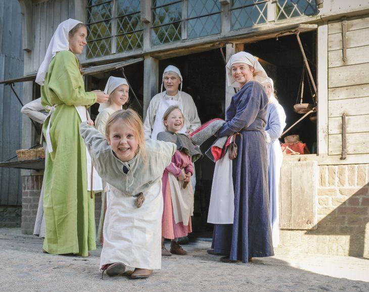 Middeleeuwse vakantie