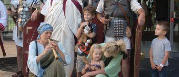 Romeinen op bezoek bij kinderen in Wilhelmina kinderziekenhuis