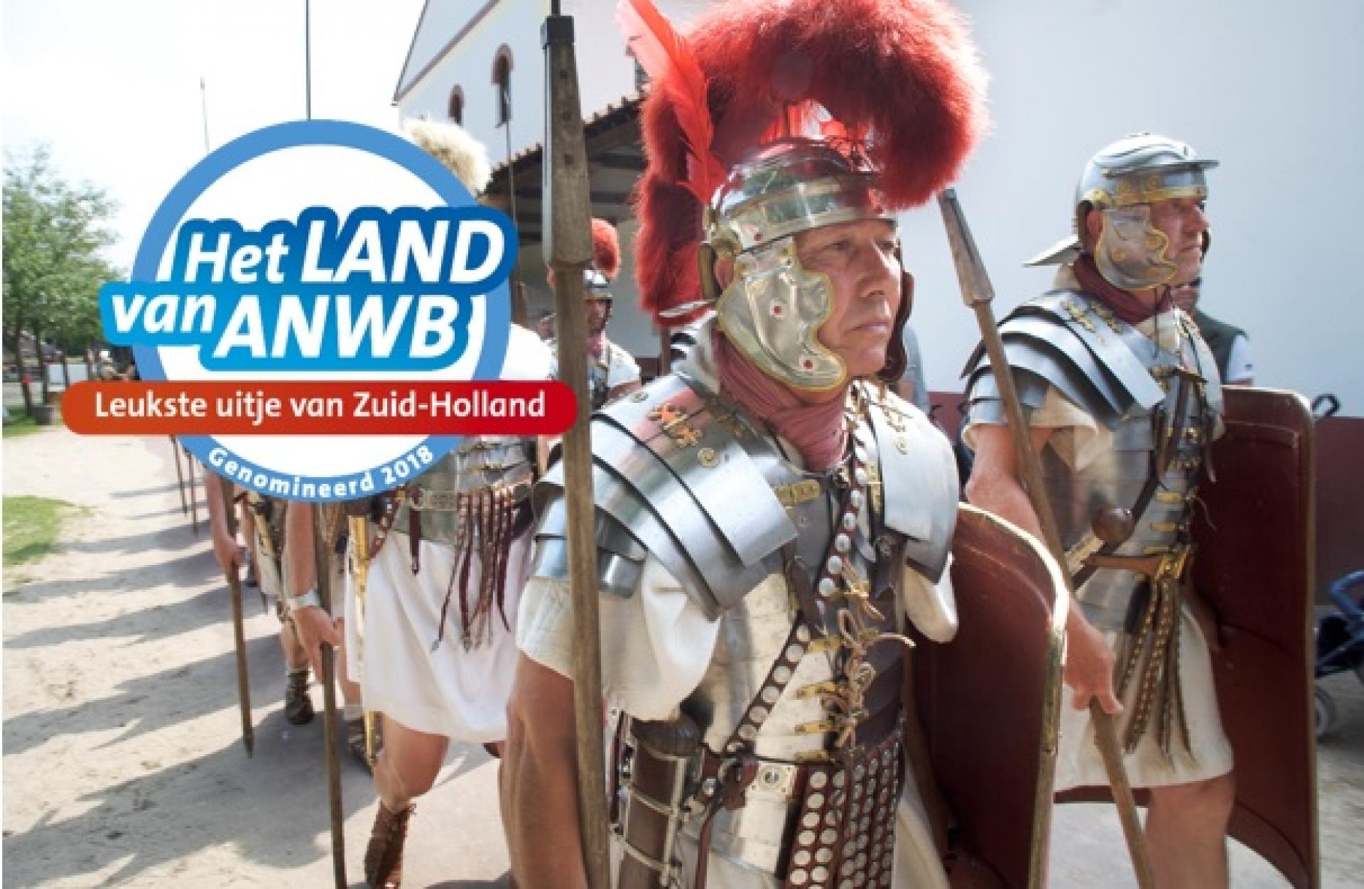Archeon genomineerd voor 'Leukste Uitje van Zuid-Holland'
