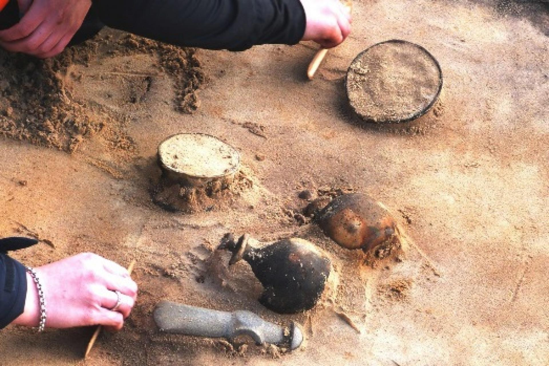 De opgravingen in Dalfsen