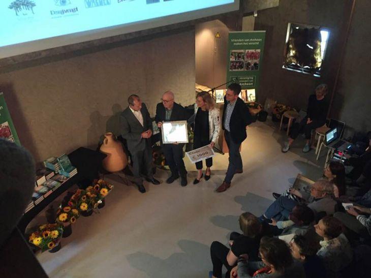 Winnaar Archeon Thea Beckmanprijs 2018