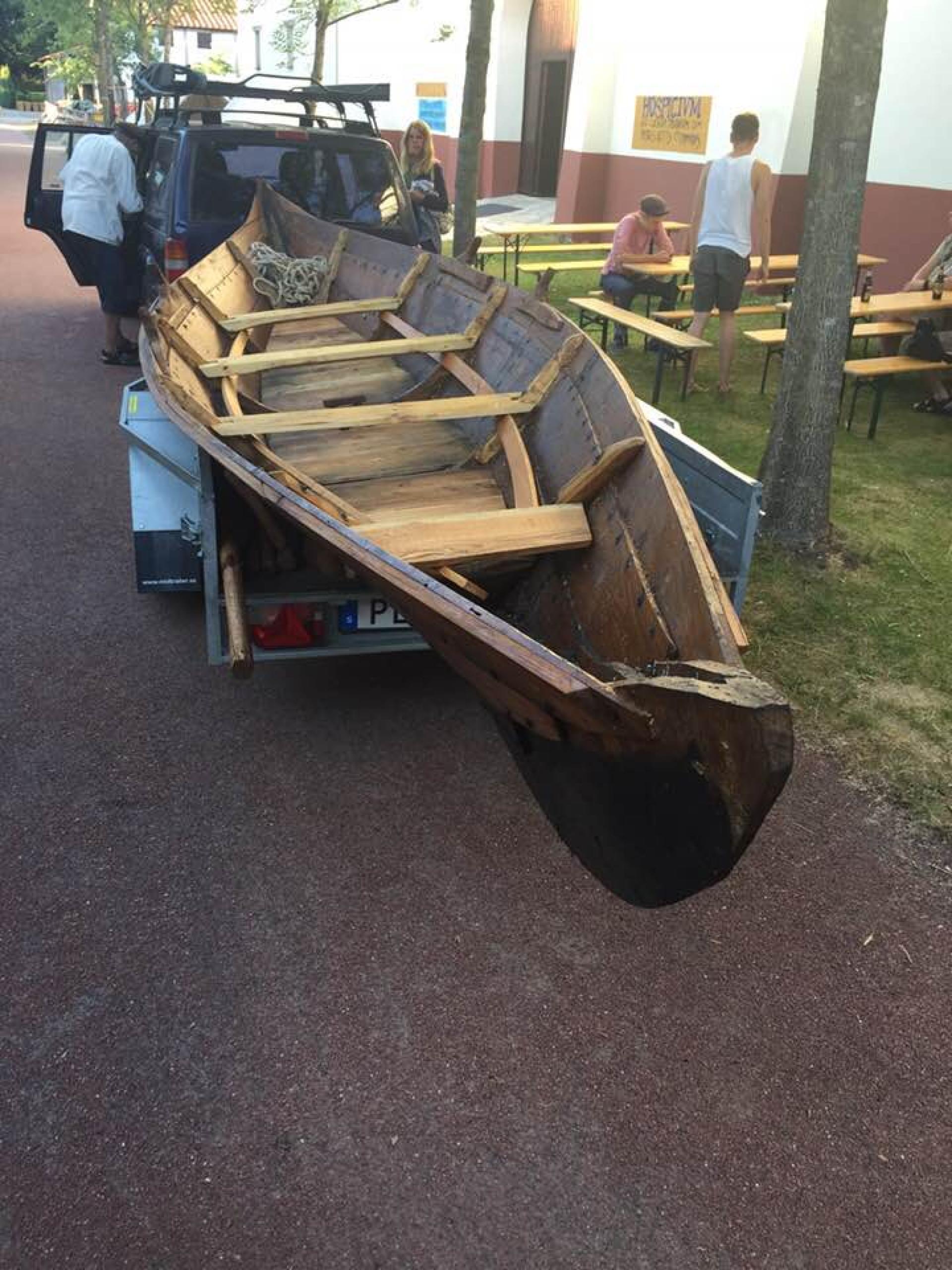 Vikingboot gearriveerd