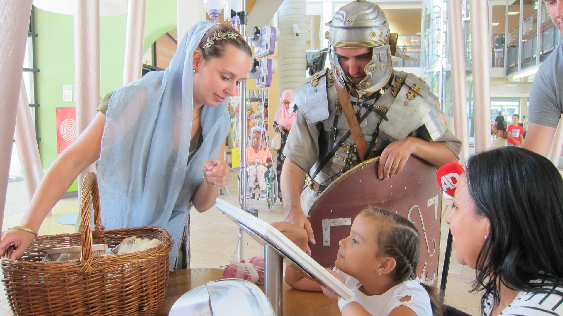 Romeinen bezoeken WKZ