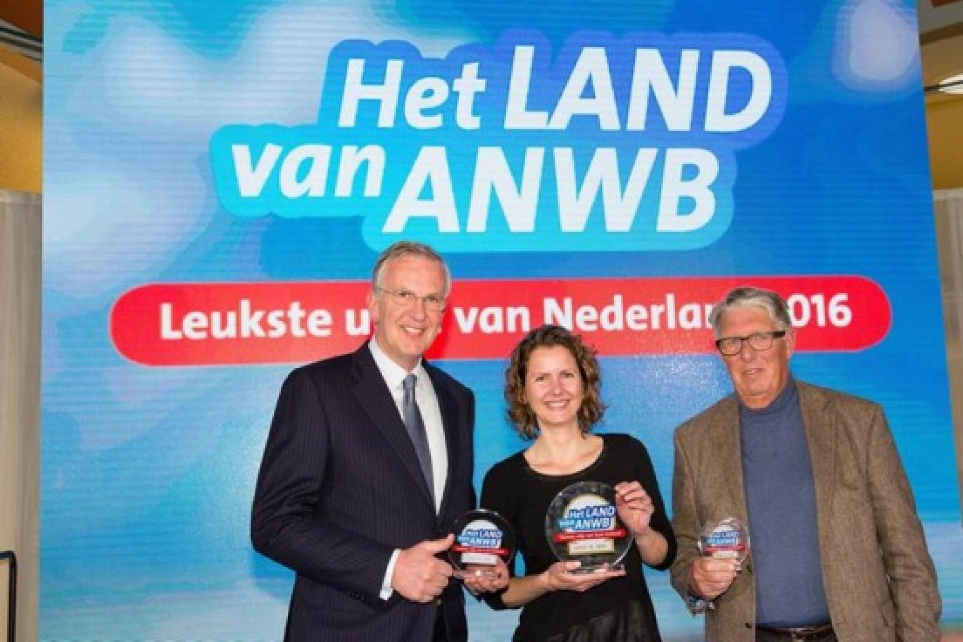 Archeon wint zilver als Leukste Dagje Uit in Zuid-Holland 2016!