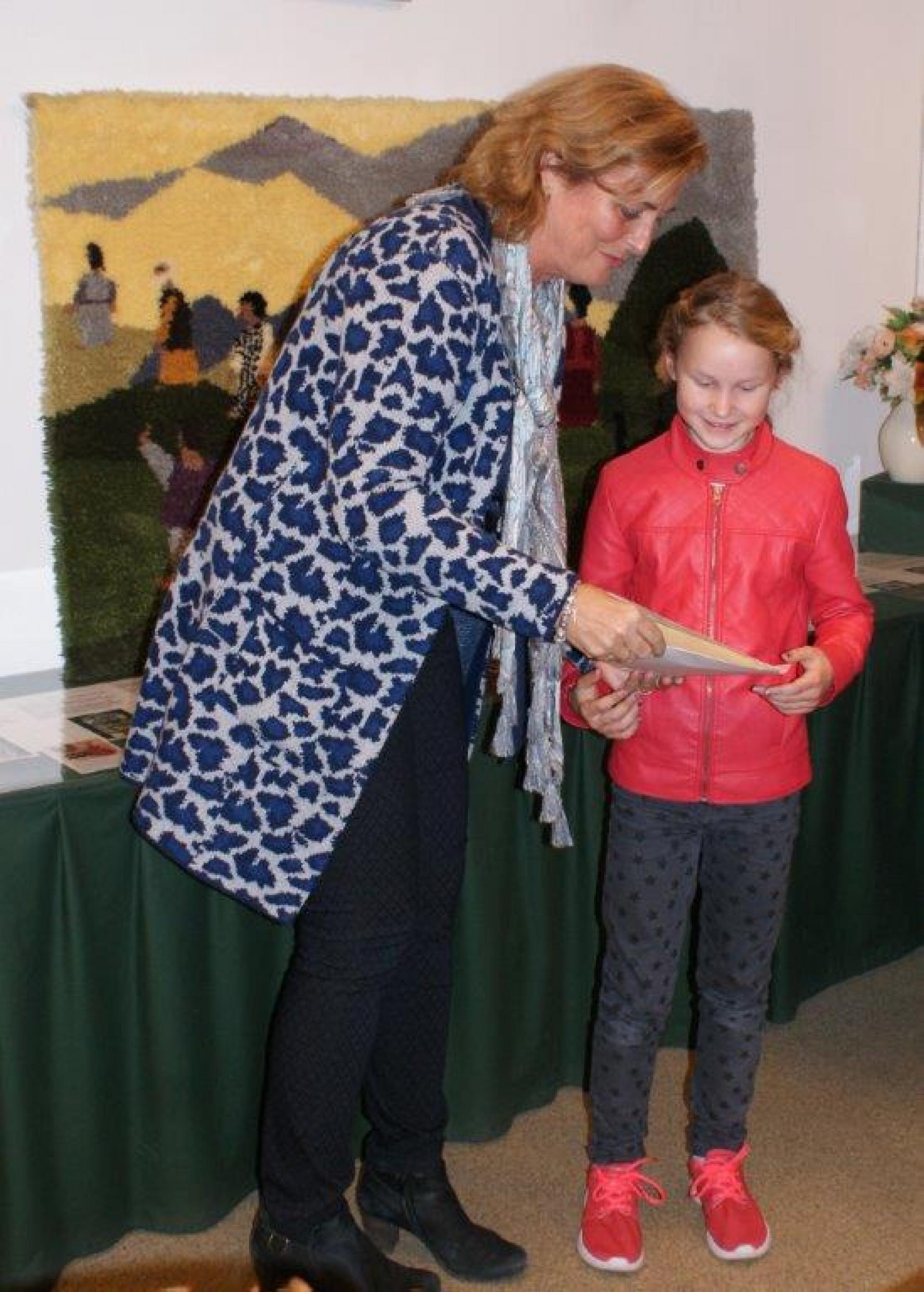 Lykke is winnaar kleurwedstrijd Oudshoornse Kerk