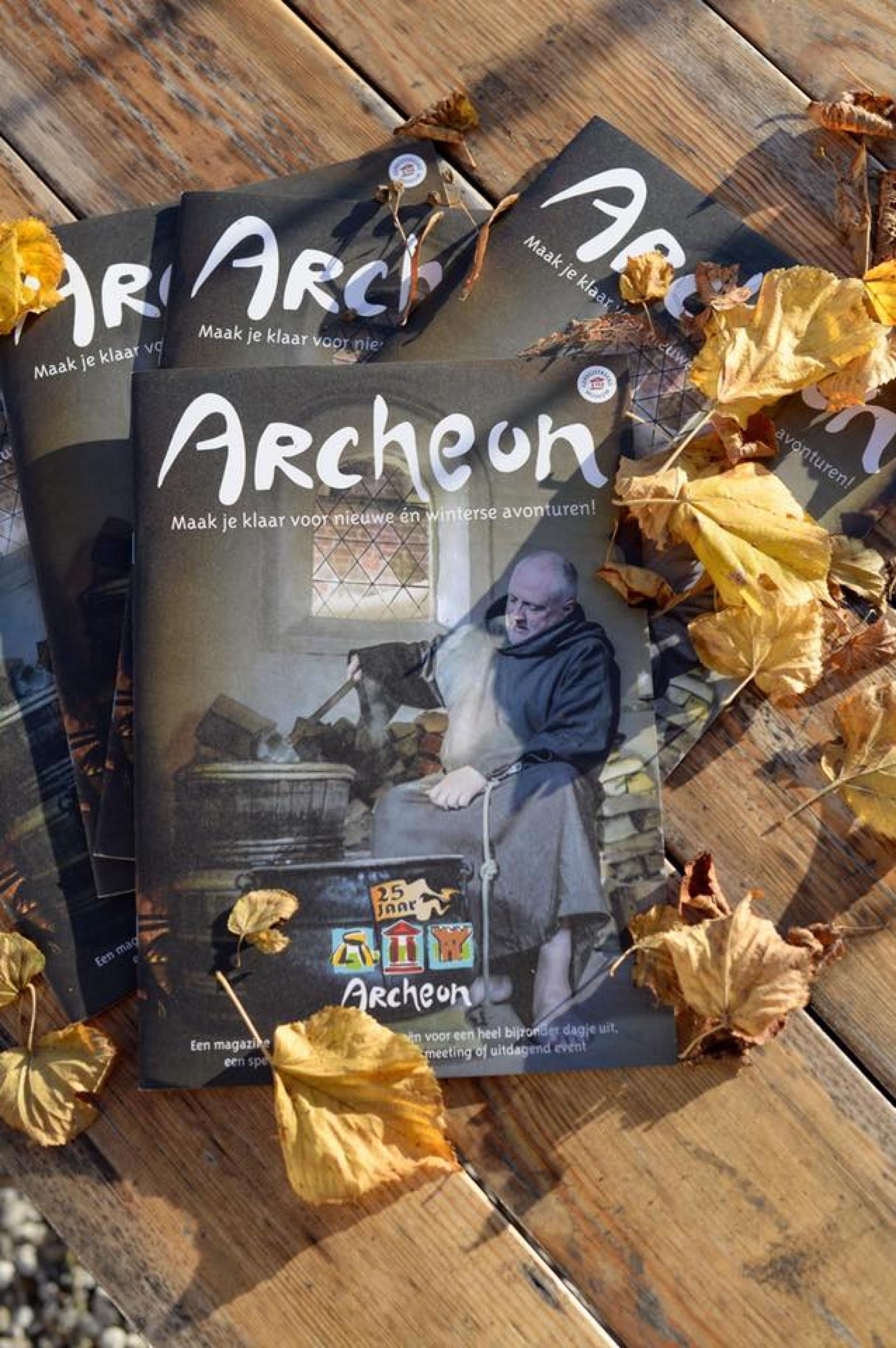 Nieuw: Archeon Magazine