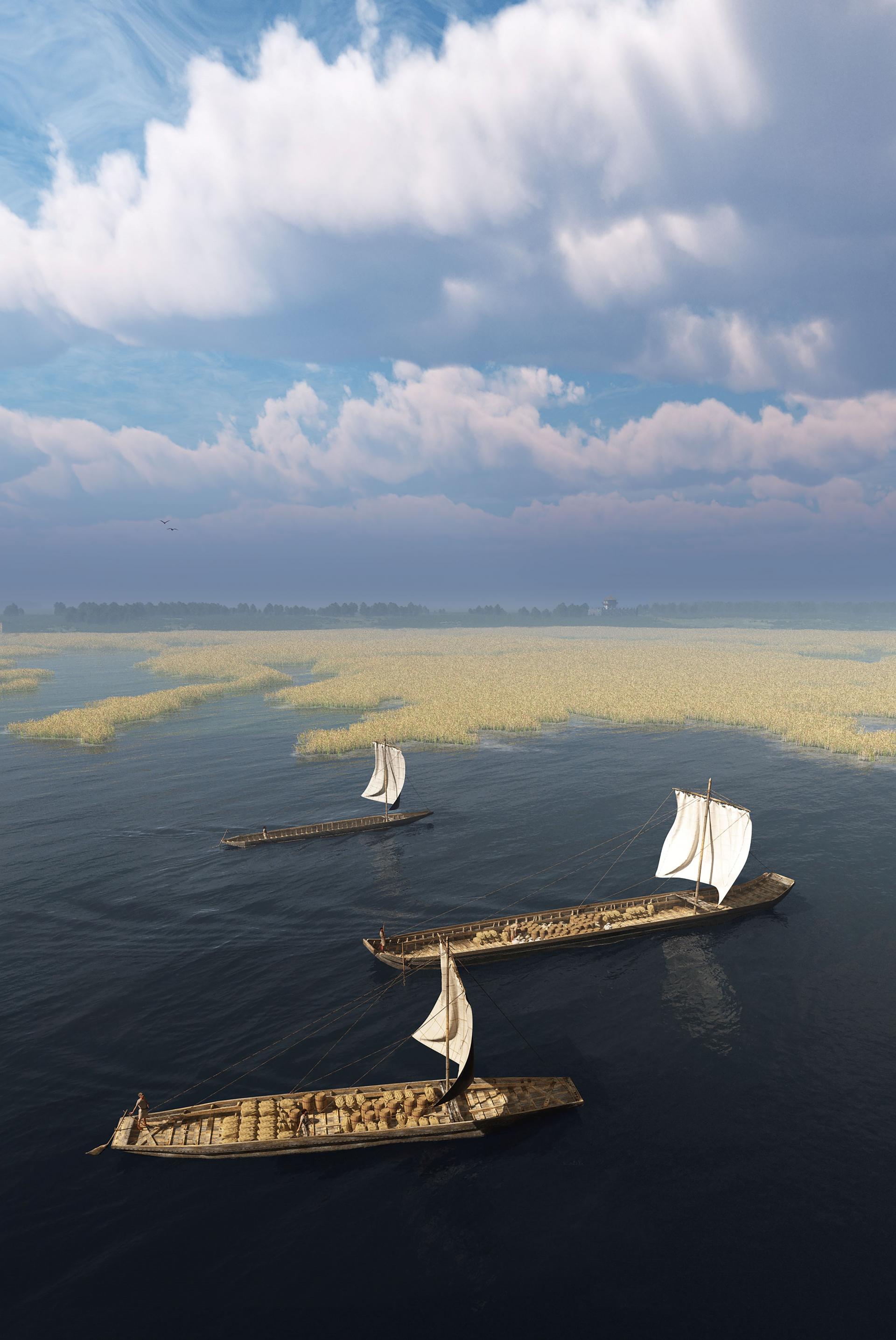 De Romeinse Zwammerdamschepen komen thuis