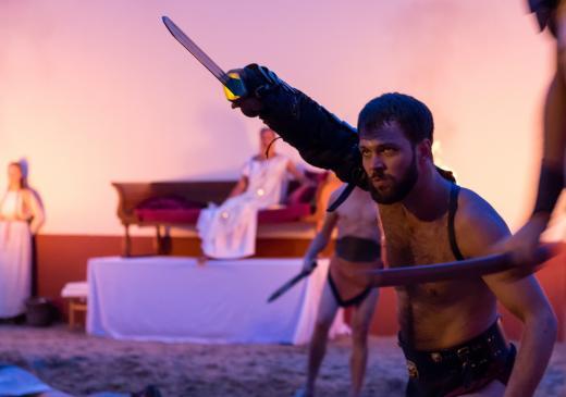 Wintertentoonstelling 'Ubi est.. Spartacus'