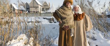Vier de winter in Archeon