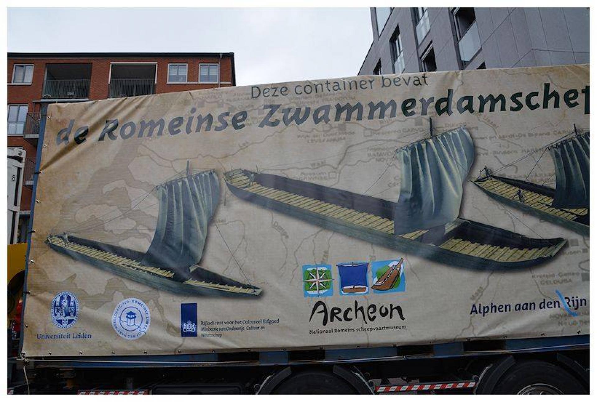 """Lezing: """"DE ZWAMMERDAM-SCHEPEN"""" Iconen van de Romeinse Rijndelta"""