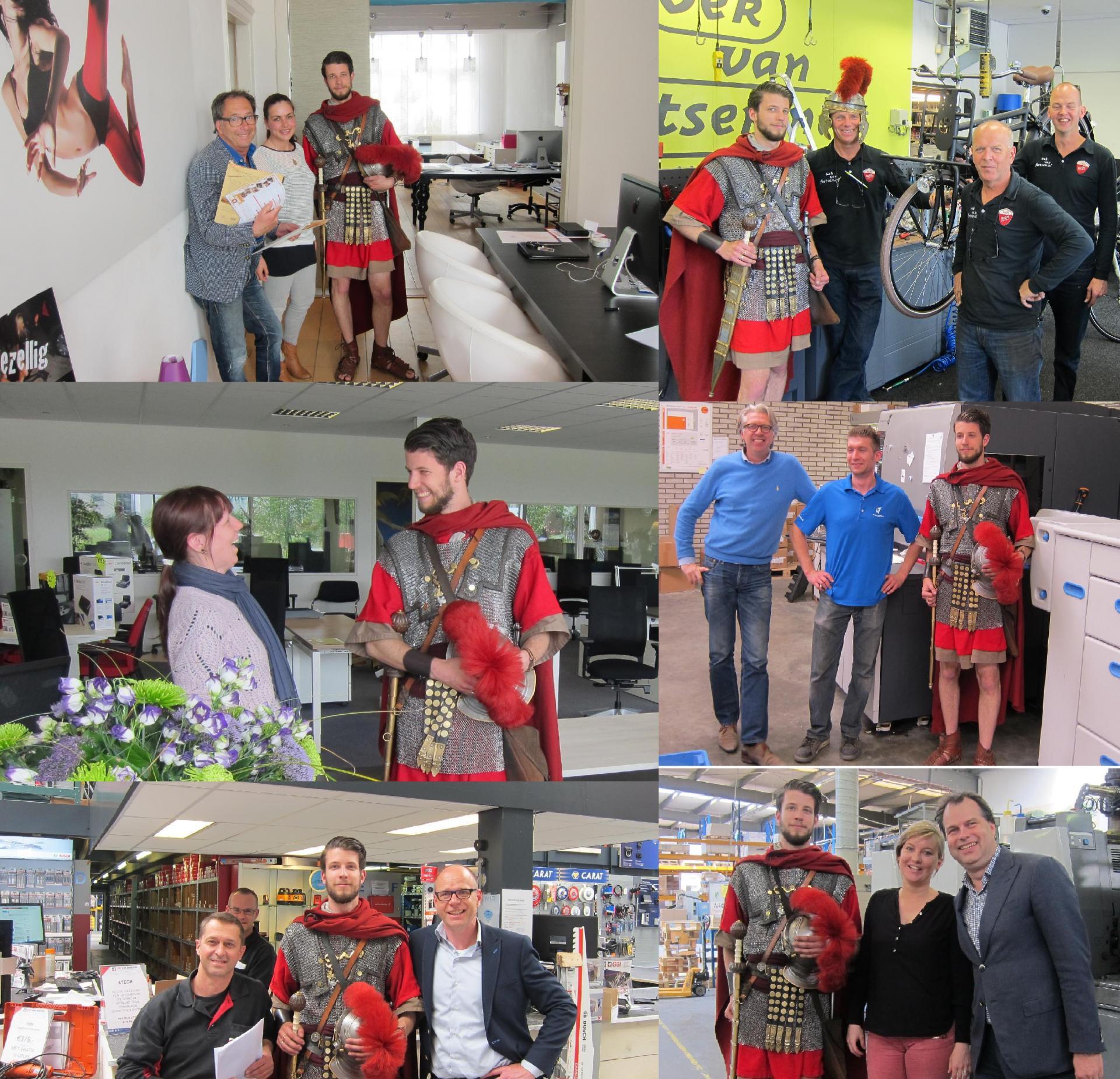 Lokale bedrijven steunen de Zwammerdam