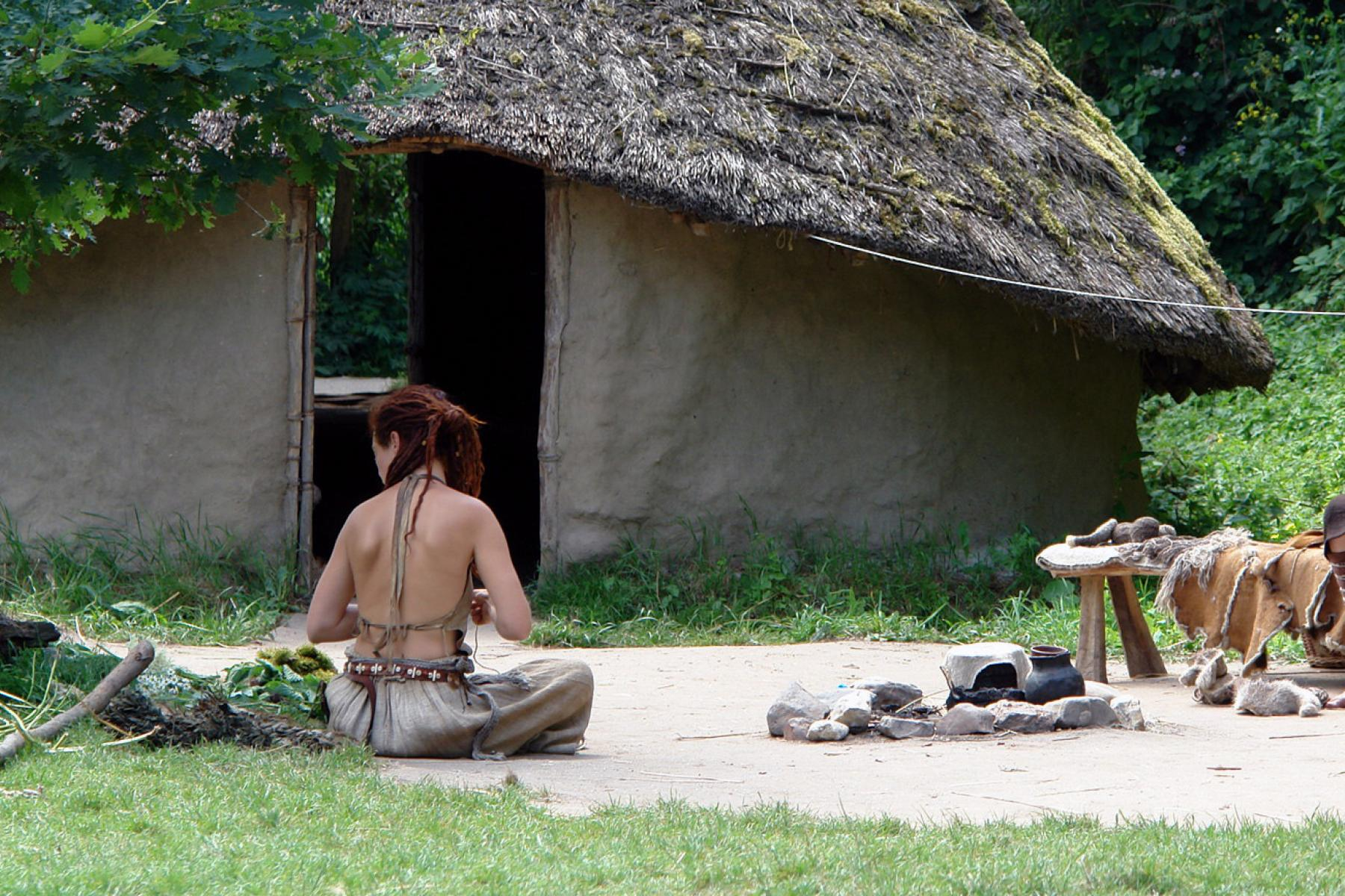 Middeleeuws hutje