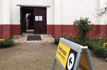 Stembureau in Museumpark Archeon