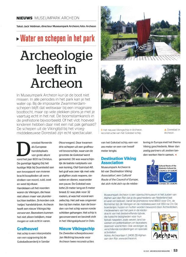 Archeologie Magazine nr 2 2021 Archeon Archeologie leeft.jpg